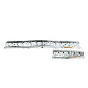 昭和ブリッジ アルミブリッジ 2本組セット BAW-210-30-1.0 (210cm/幅30cm/荷重1.0t/折りたたみ式)