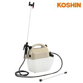 工進 電池式噴霧器 ガーデンマスター GT-5HS (容量5L) [園芸用 噴霧機 動噴 乾電池式 洗浄スイッチ]