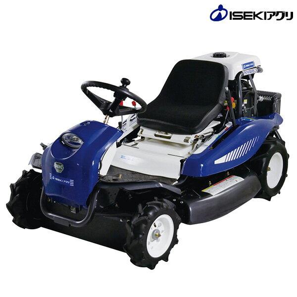 イセキアグリ 乗用草刈り機 ARM881 (HST無段階変速装置/16馬力/刈幅880mm) [イセキ 乗用モアー 乗用草刈り機]