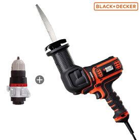 ブラック&デッカー マルチエボ・コード式マルチのこぎり EARD800 [BLACK&DECKER レシプロソー]