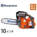 ハスクバーナ エンジンチェーンソー T425 (10インチ・25cm/25ccエンジン) [Husqvarna エンジン式 チェンソー][r10][s2-100...
