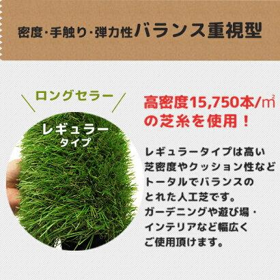 ミナトリアル人工芝『姫高麗芝・芝丈35mm』1M×10M巻きAT35-10-1.0