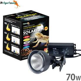ソラリウム メタルハライドランプ 70Wセット (HIDランプ+ソケット+共通安定器) [ゼンスイ 照明 UVランプ 爬虫類 飼育 ペットペットゾーン]