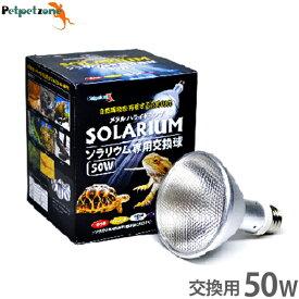 ソラリウム 50W 専用交換球 [ゼンスイ メタルハライドランプ HID UV 爬虫類 飼育 ペットペットゾーン]