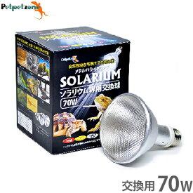 ソラリウム 70W 専用交換球 [ゼンスイ メタルハライドランプ HID UV 爬虫類 飼育 ペットペットゾーン]