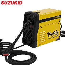 スズキッド インバーター半自動溶接機 Buddy SBD-80 ネット限定モデル (100V/ノンガス専用) [スター電器 SUZUKID]