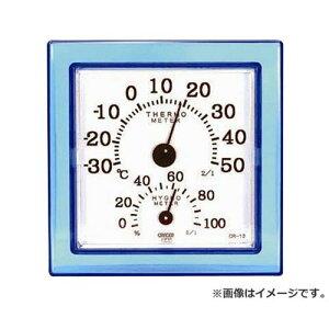 CRECER 温湿度計クリア・ミニブルー CR-12B 4955286804858 [クレセル・MT・温度計]