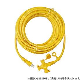 KOWA ソフト延長コード 20m KM07-20キイロ 4580138480074 [電工ドラム・コード 延長コード 20M]