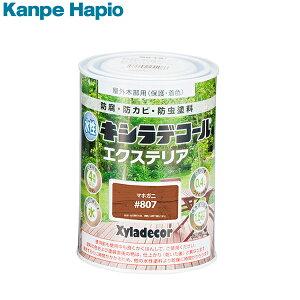 カンペハピオ 水性キシラデコール エクステリアS マホガ二 0.4L 4571152253997 [防虫 防腐 塗料]