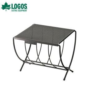 ロゴス(LOGOS) LOGOS 薪ラックテーブル 81064154 [アウトドアテーブル バーベキュー たき火 燻製 囲炉裏]