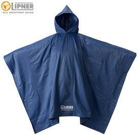ロゴス(LOGOS) LIPNER PVCポンチョ ブルー フリー 23712159 [LIPNER ジャケット]