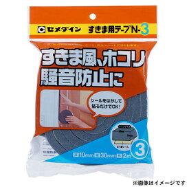 【メール便可】セメダイン N3すきま用テープ 10X30X2M TP-164 4901761328661