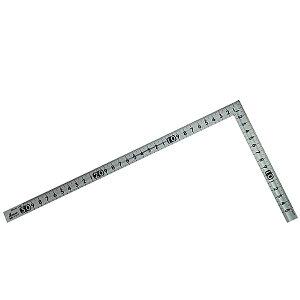 シンワ測定 曲尺小型 溝付 ステン 30×15cm 裏面角目 12017 4960910120174