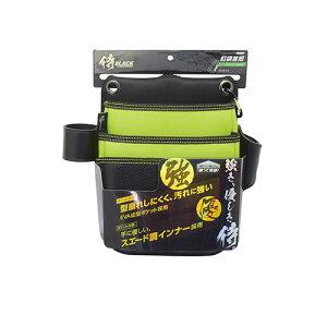 侍BLACK EVA釘袋 首短 グリーン 27034 4907052090354