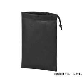 TRUSCO 不織布巾着袋10枚入 黒 420X330X100MM TNFD10M 10枚入 [r20][s9-810]