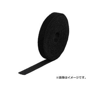TRUSCO マジック結束テープ 両面 黒 20mm×25m MKT20250BK [r20][s9-820]
