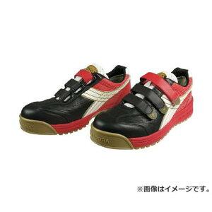 ディアドラ DIADORA 安全作業靴 ロビン 黒/白/赤 27.5cm RB213275 [r20][s9-830]