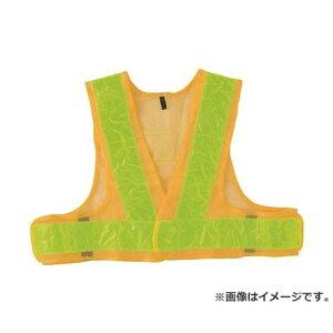 TRUSCO 安全ベストショート丈 イエロー*イエロー TKA560 [r20][s9-810]