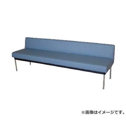 ミズノ ロビーチェア 背付き 青 MC7A (B)