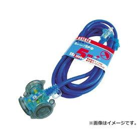 ハタヤ(HATAYA) 防雨型2P延長コード5m ブルー FX053B [r20][s9-900]