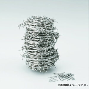 TRUSCO 有刺鉄線 ステンレス 1.6mmX20m TSUW1620 [r20][s9-830]