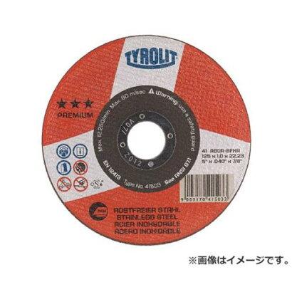 TYROLIT切断砥石プレミアムタイプ125X1X22.23mm41503×25枚セット[r20]