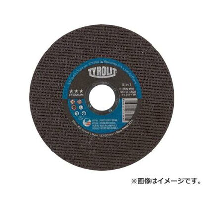 TYROLIT切断砥石プレミアムタイプ125X1X22.23mm773269×25枚セット[r20]