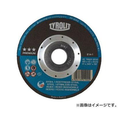 """TYROLIT切断砥石""""ディープカット""""125X1.2X22.23mm34042239×25枚セット[r20]"""