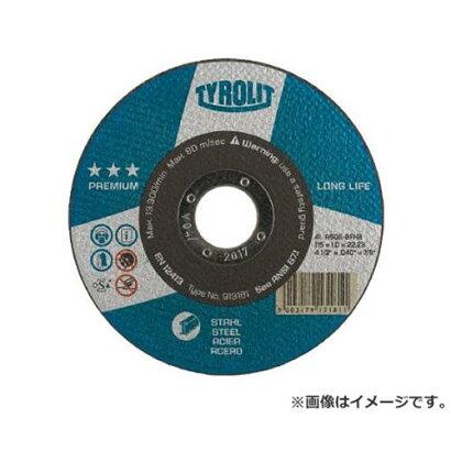 """TYROLIT切断砥石""""ロングライフ""""105X1X15mm34197818×25枚セット[r20]"""