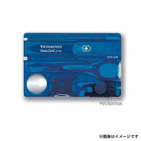 【メール便可】VICTORINOX(ビクトリノックス) SWISS CARD スイスカードライトT2 BL 0.7322.T2 7611160014887