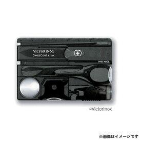 【メール便可】VICTORINOX(ビクトリノックス) SWISS CARD スイスカードライトT3 BK 0.7333.T3 7611160014894