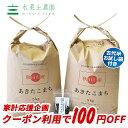 【おまけ付き】【クーポン配布中】秋田県産 農家直送 あきたこまち 精米10kg(5kg×2袋)令和元年産 / 古代米お試し袋…