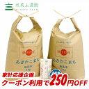 【おまけ付き】【クーポン配布中】秋田県産 農家直送 あきたこまち 無洗米10kg(5kg×2袋)令和元年産 / 古代米お試し…