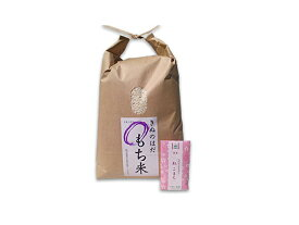 【もち米】秋田県産 農家直送 きぬのはだ 5kg 令和元年産 / 古代米(赤米or黒米)お試し袋付き