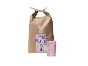 【おまけ付き】秋田県産 農家直送 きぬのはだ もち米3kg 令和2年産 / 古代米お試し袋付き