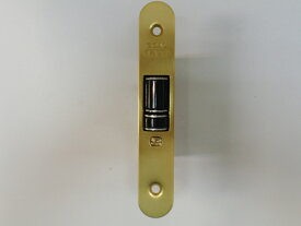 GOAL レバーハンドル消音錠 LYS 本体ケースのみ フロント楕円タイプ 金色 ゴールド 防犯 鍵 交換 取替