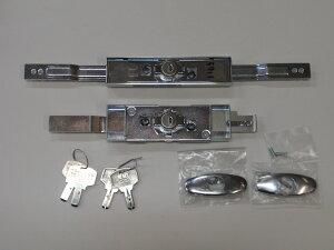 取替用シャッター錠 同一キータイプシャッター錠 三和シャッター (新型)KS-29 & アクアキー ウォーターロック 水圧錠 ディンプルキー 2個セット同一キータイプ 特注品 SANW