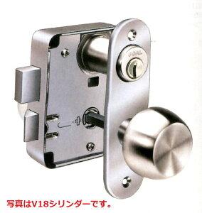 公団型 外開き用 面付箱錠 GOAL(ゴール) V-4350 V18ディンプルキータイプ 左右勝手 玄関 防犯 鍵 交換 マンション アパート 玄関