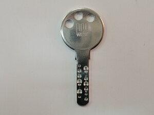 WEST 純正キー ディンプルキー 955 合鍵 スペアキー 子鍵 16本ピン HA HB