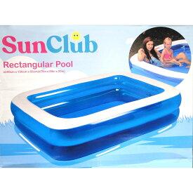 [SunClub] ビニールプール ジャンボ 大型 家庭用 子ども ジャンボプール 2m ガーデンプール