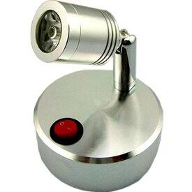 コンセント 不要 LED スポット ライト 屋内 用 壁 天井 展示 撮影 MI-VISTA ホワイト 昼白色 【送料無料】ctr-876
