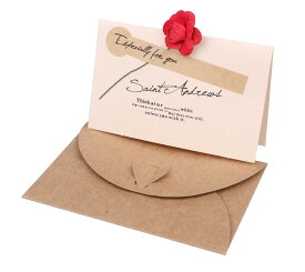 封筒 付 メッセージカード 30枚セット シール160枚付 ミニ バラ 無地 お礼 座席 結婚式 テーブル 【送料無料】mmk-n29