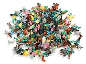 ジオラマ Nゲージ 人形 1/200スケール 大量 200体 セット 人間 人型 鉄道模型 塗装済 ディスプレイ 【送料無料】mmk-n57