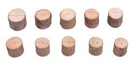 木製 カード メモ スタンド メモ ホルダー 写真立て メモ クリップ オフィス デスク 机上 用品 10個 【送料無料】mri-a02