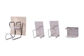 歯ブラシホルダー 2個& 歯磨き粉ホルダー 1個& 洗面器 湯桶 ホルダー 1個 壁掛け 清潔 スタンド 【送料無料】mri-c43