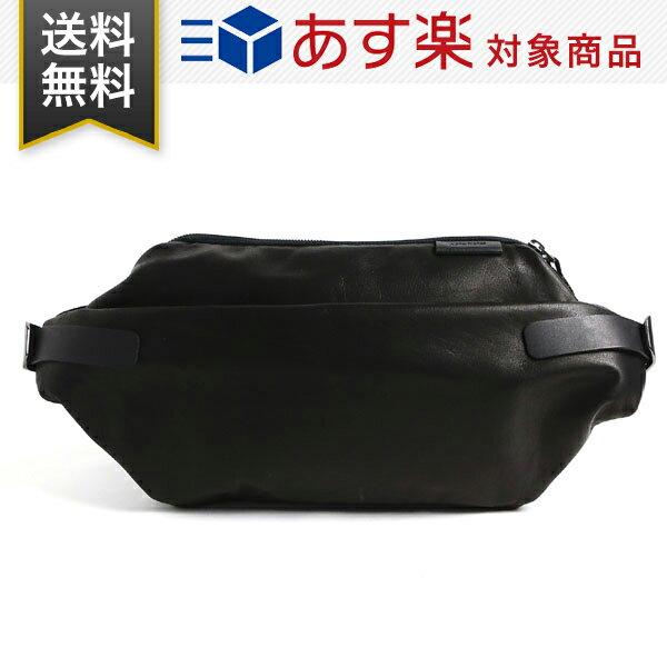 コートエシエル Cote&Ciel メンズ Isarau Alias Cowhide leather iPad Air 収納可 レザー ショルダー メッセンジャー ボディバッグ Black ブラック 黒 28604