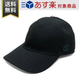 グッチ 帽子 GUCCI コットン 387554 4H010 1000 HAT BAS PAFOD O ベースボールキャップ ブラック メンズ レディース