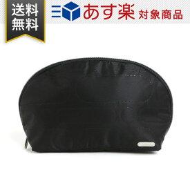 レスポートサック LeSportsac ポーチ 4249 M108 レディース 小物入れ ドーム型 化粧ポーチ LOGO DEBOSS BLACK ロゴ ディボス ブラック
