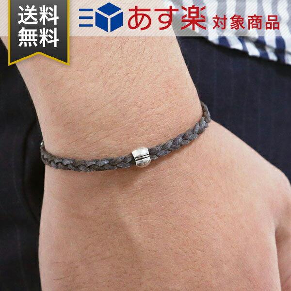 チャンルー ブレスレット CHAN LUU メンズ シングル アジャスタブル チェーン シルバー 925 レザー BSM1698 NATURAL GREY