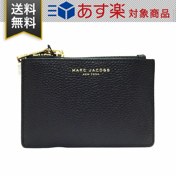 マーク ジェイコブス 財布 コインケース MARC JACOBS M0011054 065 BLACK ブラック レザー 小銭入れ カードケース